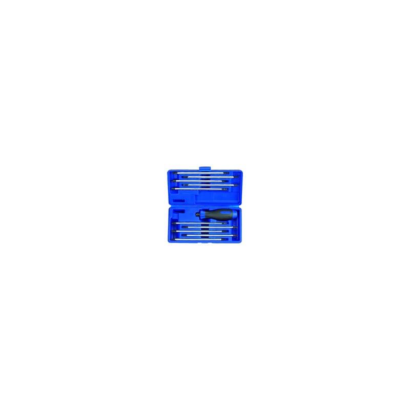 Coffret de tournevis à lames réversibles - 11 pièces