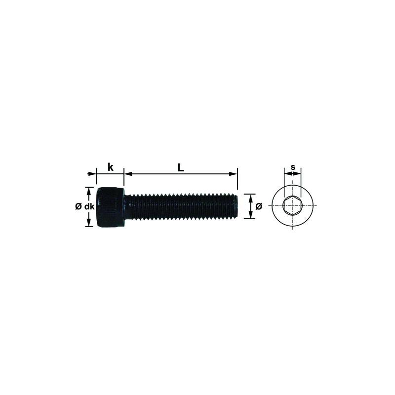 VIS CHC CL.12.9 14X100 BRUT DIN 912 (5)