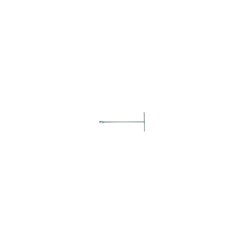 Clé en T douille incorporée Métrique 10 mm