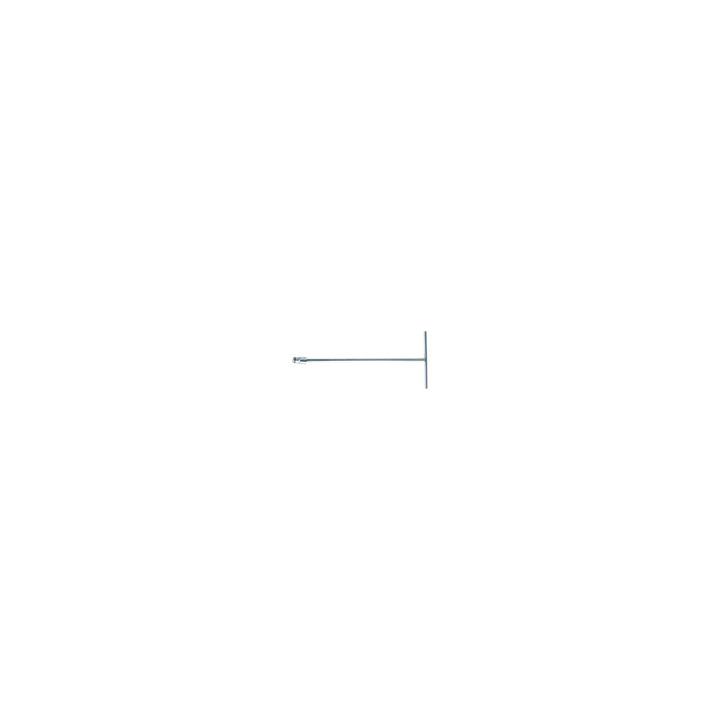 Clé en T douille incorporée Métrique 13 mm