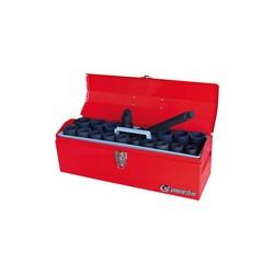 """Caisse à outils de douilles 3/4"""" à choc métriques et accessoire - 6420mp01"""