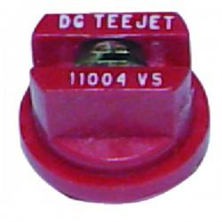 Buse dg 11004-vp polymère rouge Teejet