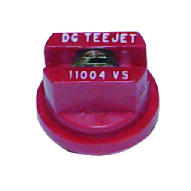 BUSE DG 11004-VP POLYMERE ROUGE TEEJET