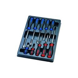 Thermoformé de tournevis à fente et PHILLIPS - 10 pièces