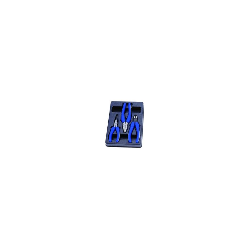 Thermoformé de pinces - 3 pièces