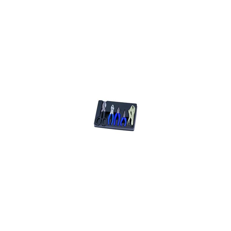 Thermoformé de pinces et cisaille - 5 pièces
