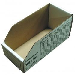 boite de rangement carton 230x50 mm. Black Bedroom Furniture Sets. Home Design Ideas