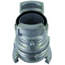 Raccord de réduction aluminium avec verrou femelle 80 femelle 65