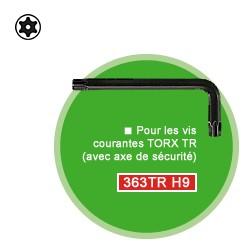 Clé coudée Torx TR 30 longueur 79 mm
