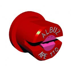 Buse ape 80° rouge Albuz