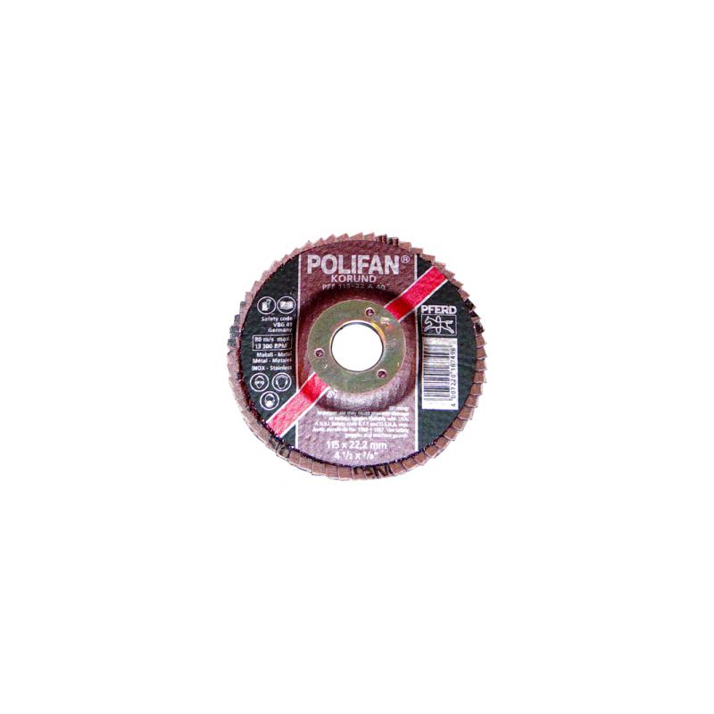 "DISQUE D115 A SURFACER ""POLIFAN"" GRAINS 40 A"