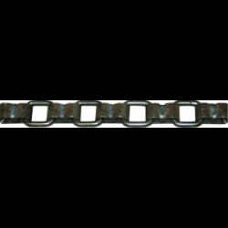 Chaine plate brute 80/12 le mètre