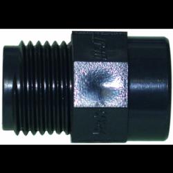 """Réduction PVC fileté taraude mâle-femelle 3/4""""x1/2"""""""