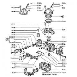 Membrane de cloche ds800 j 0712500