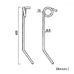 Dent semoir arrière GW475 pour Gaspardo 18902800