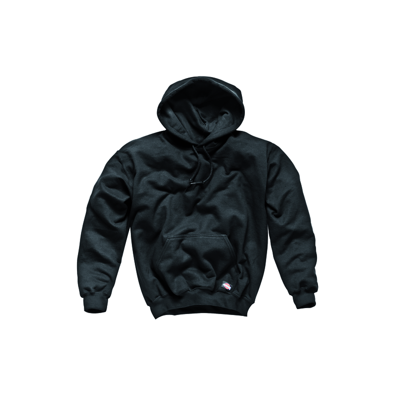 SWEAT CAPUCHE NOIR TM 65 POLY/35 COTON