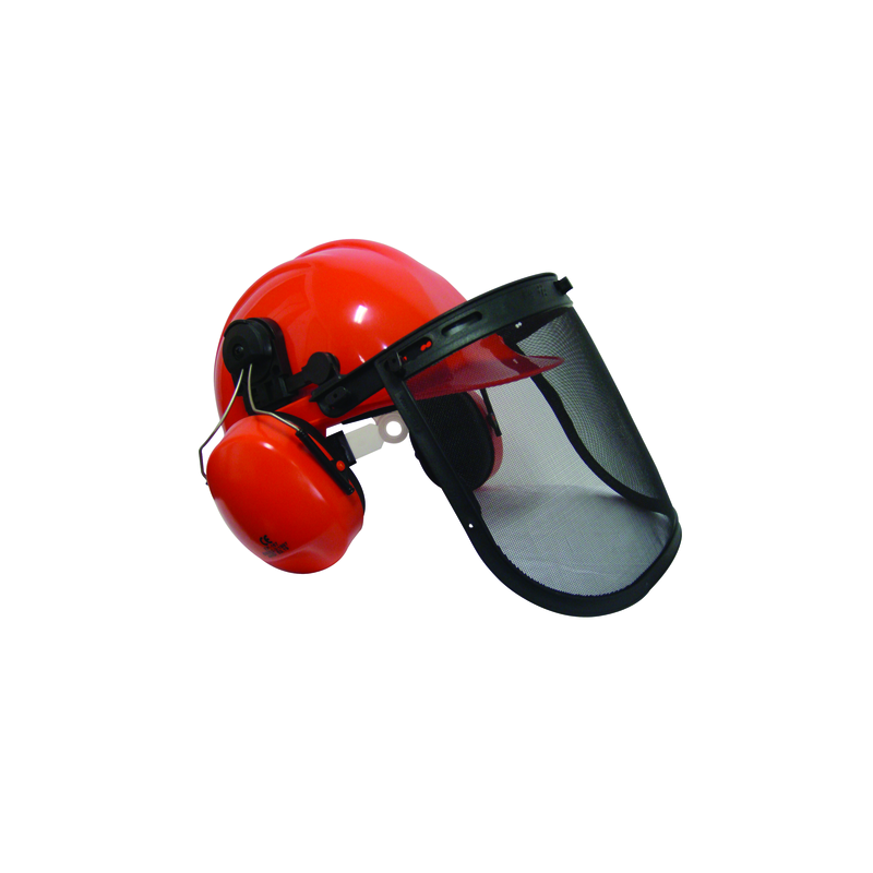 CASQUE FORESTIER COMPLET VISSIERE+ANTI-BRUIT
