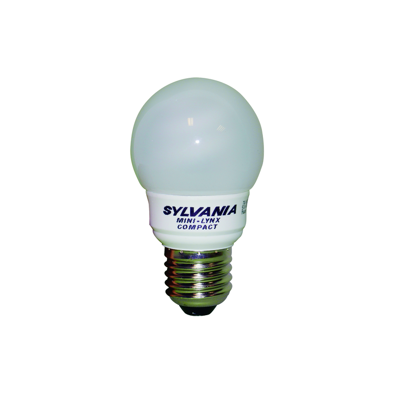 LAMPE FAST START SPHERIQUE T2 7W E27 827