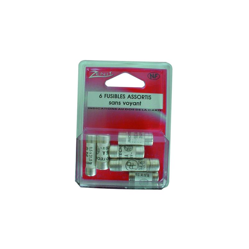 FUSIBLES 10,3X25,8 16A (BOX 6)