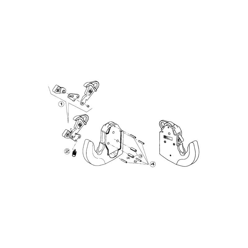 RESSORT DE TRACTION/CROCHET INF. CAT2 1120135