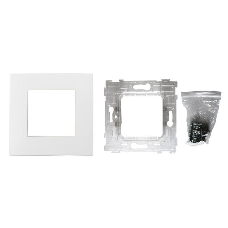 PLAQUE BLANC MAT-SIMPLEA 1 supp.+grif