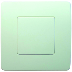PLAQUE CACHE BOITE 75x75 VENUS BLANC