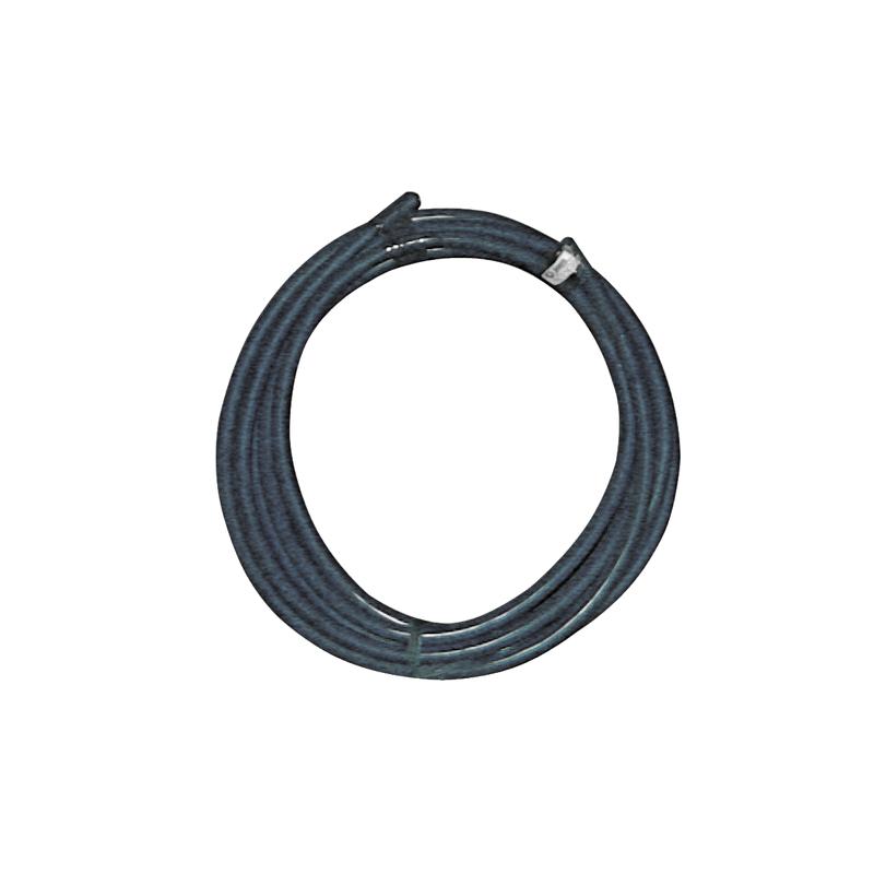 2.50 M CABLE NOIR 6MM