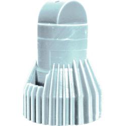Buse kwix trifilet blanche ecrou+joint Nozal