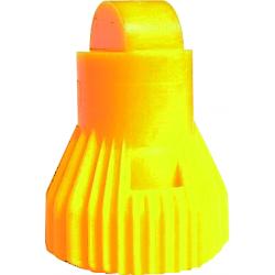 Buse kwix trifilet jaune ecrou+joint Nozal