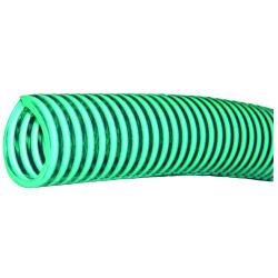 Tuyau plastique vert renforcé diamètre 200 mm (rouleurx de 10 m)