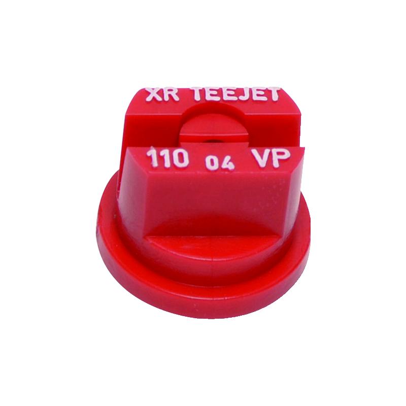 BUSE XR 11004-VP ROUGE POLYMERE TEEJET