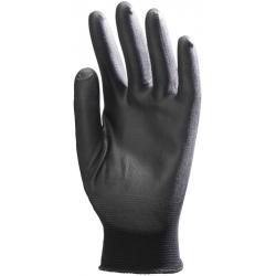 Gants polyamide enduits noir PU (boite de 10 paires)