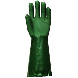 Gants PVC supérieur vert longueur 40cm (boite de 2 paires)