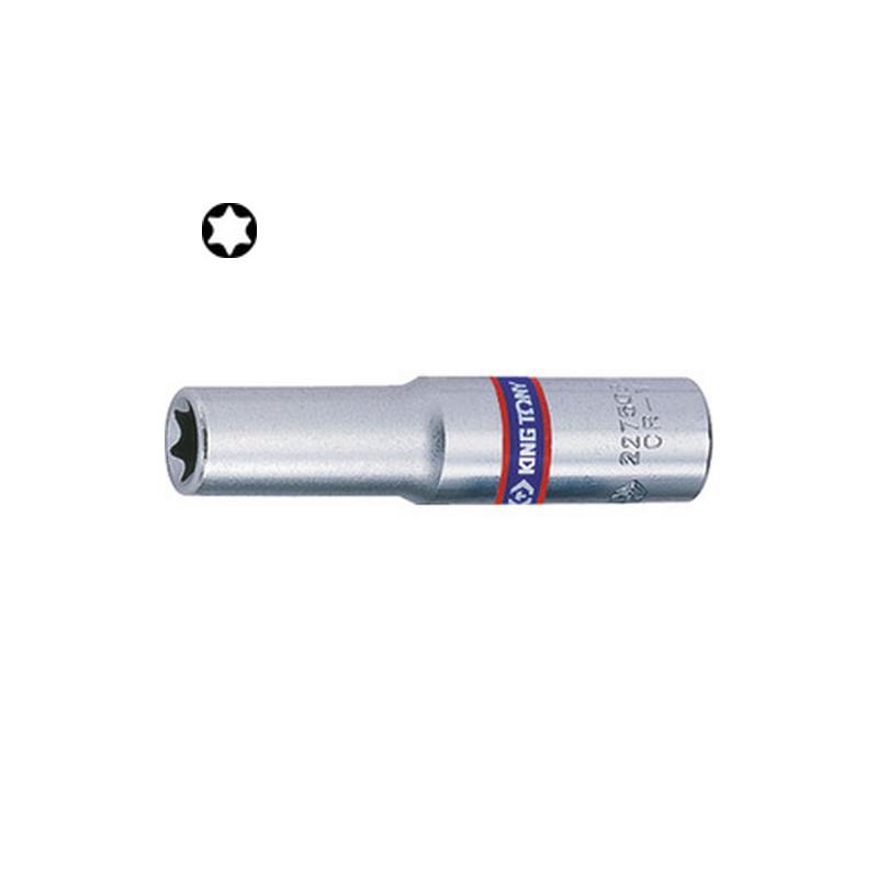 """Douille 1/4"""" (6,35mm) longue pour vis mâles Torx- 2275"""