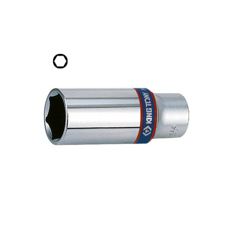 """Douille longue 3/8"""" (9.53mm) 6 pans - 3235"""