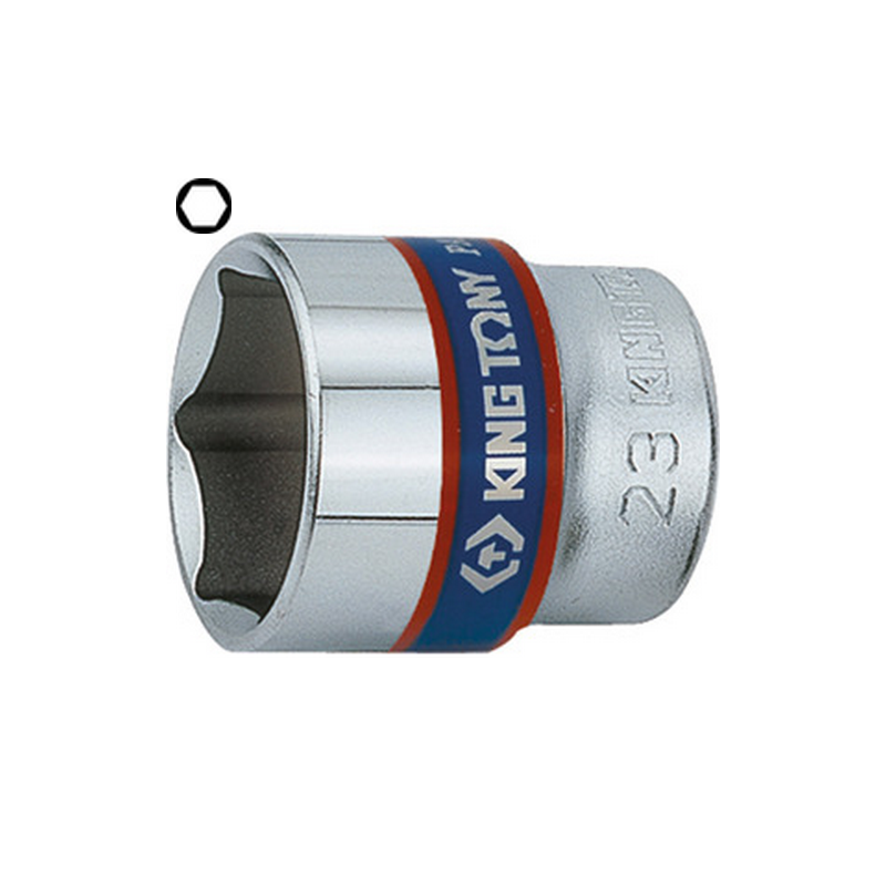 "Douille standard 3/8"" (9.53mm) 6 pans 3335"