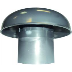 Chapeau de ventilation PVC diamètre 80 mm