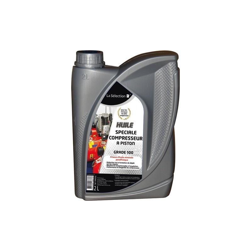 Huile pour compresseur à piston H150 2 litres