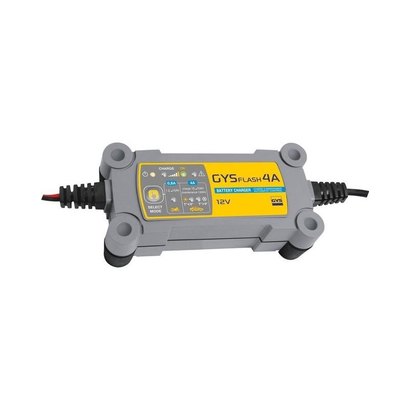 Chargeur de batterie automatique 12 volts de 1,2 Ah à 70 Ah Gystech 4A Gys