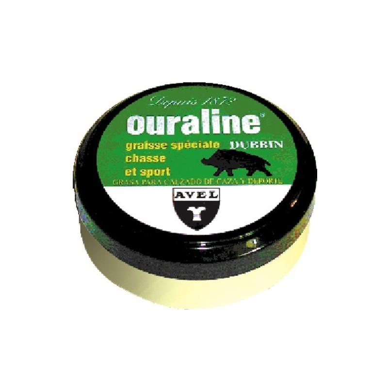 Graisse pour cuir OURALINE 125 ml spéciale chasse et sport