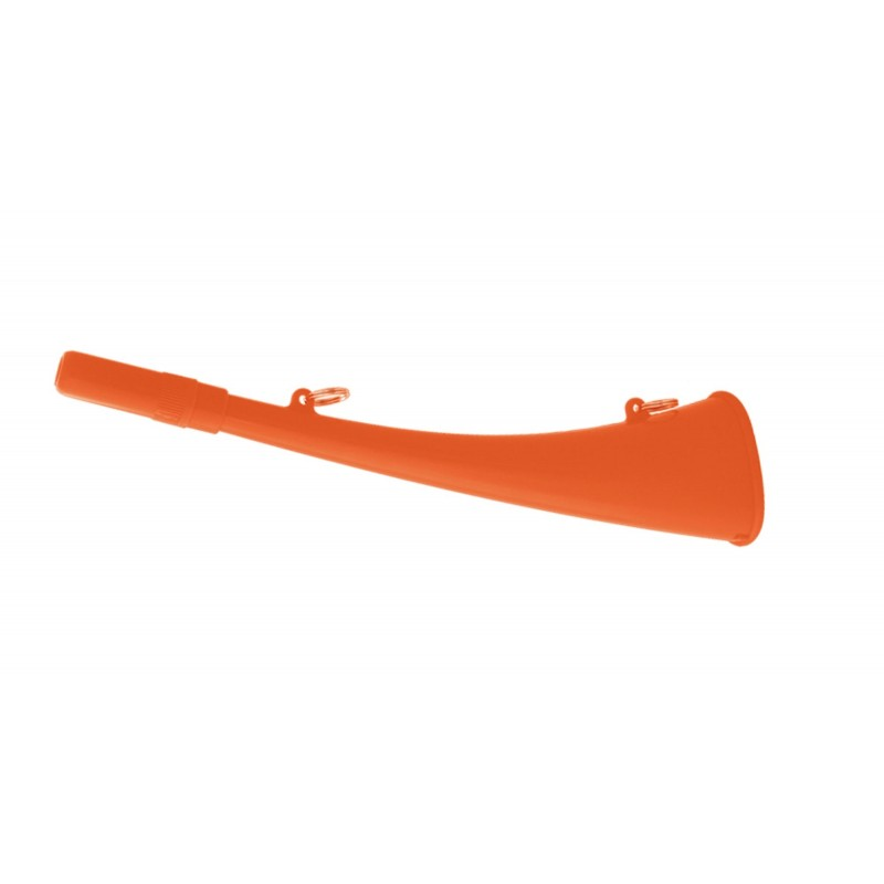 Corne d'appel 25 cm ABS orange fluo - Elless