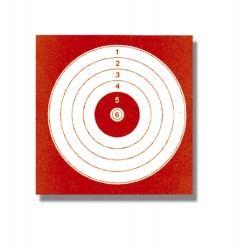 Cartons de 1000 cibles 14x14 cm
