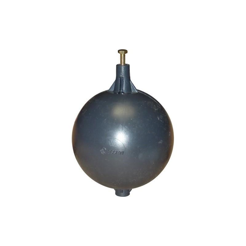 """Boule flotteur PVC diamètre 120 m 1/2"""" 3/4"""""""