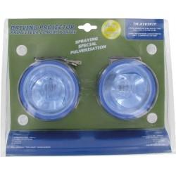 Kit 2 phares bleus longue portée spécial pulvérisateur