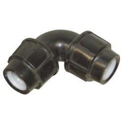 Raccord pp coude 90 à joint diamètre 25 mm