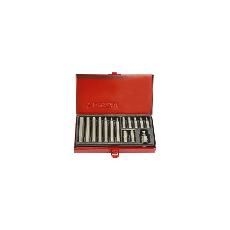 Embouts tournevis 6 Pans 10 mm (coffret de 15 pièces) - 1015MQ