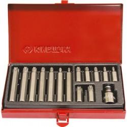 Embouts tournevis Torx 10 mm (coffret de 15 pièces) - 1015PQ