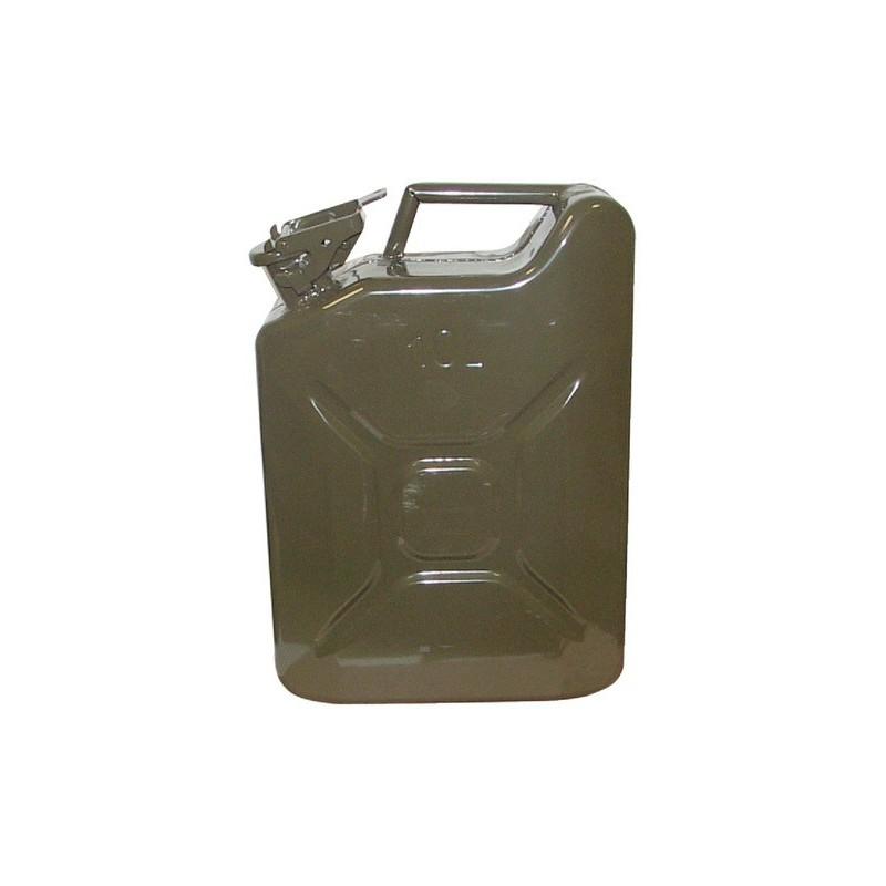 Jerrican 6 litres métal genre US