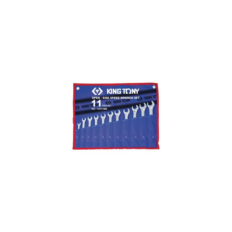 Trousse de clés mixtes speedopen métriques - 11 pièces - 14111mr
