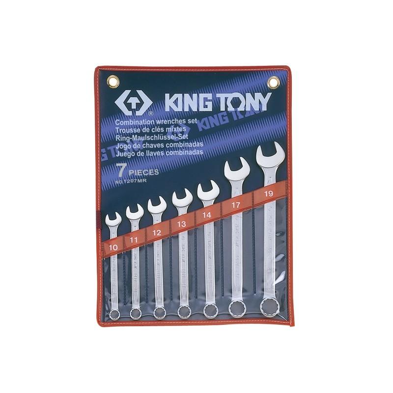 Trousse de clés mixtes métriques - 7 pièces - 1207mr